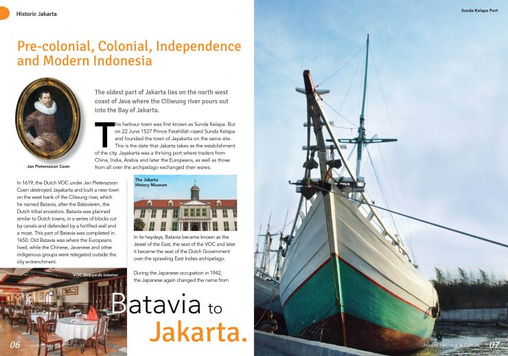 Jakarta's Historical And Cultural Travel Guide Book