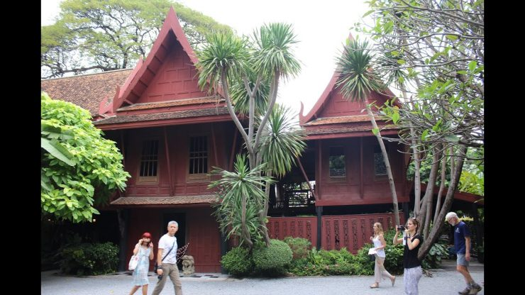 Jim Thompson House Museum Bangkok Thailand (YouTube)