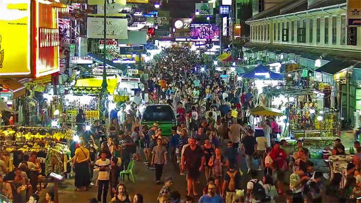 Khaosan Road Bangkok Thailand (geocam.ru)