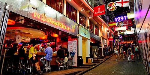 Lan Kwai Fong Hong Kong (Discovery Hong Kong)