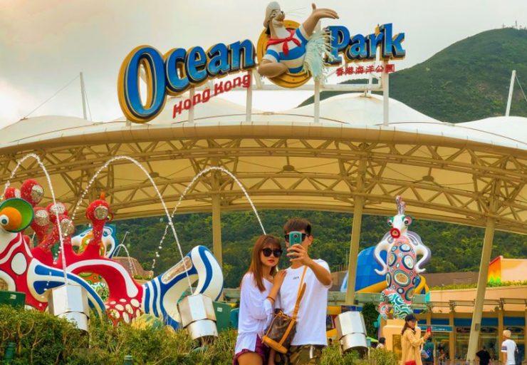 Ocean Park Hong Kong (Okezone Lifestyle)