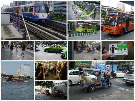 Public transport in Bangkok - Thailand