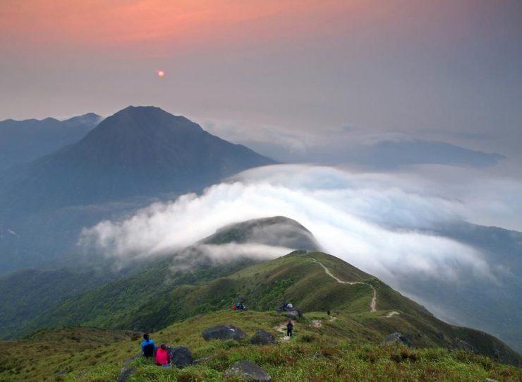 Sunset Peak Hong Kong (Pinterest)