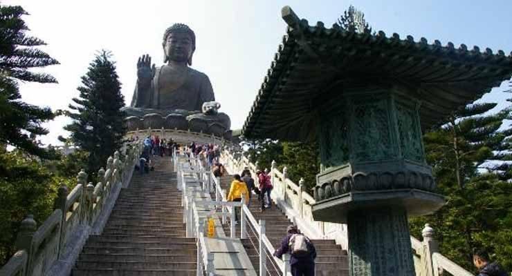 Tian Tan Buddha Statue Hong Kong (Life-108Jakarta)
