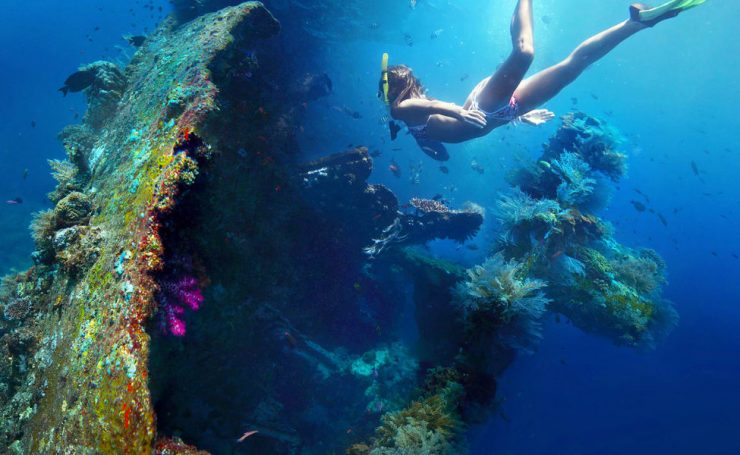 Tulamben Underwater Conditions