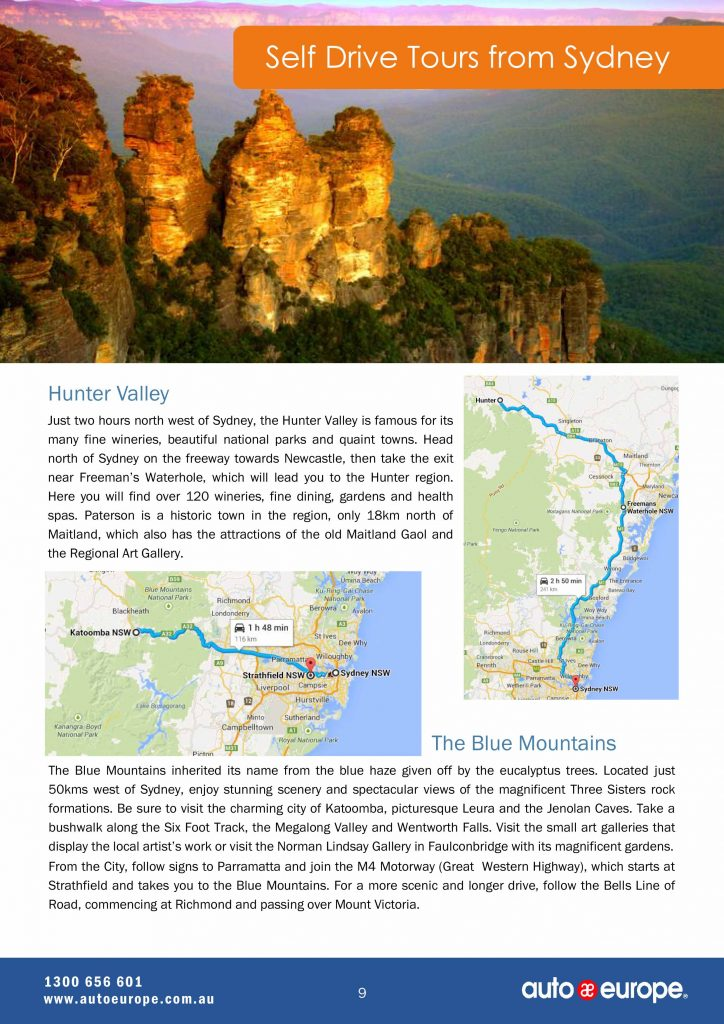 Australia-destination-guide-9-Self-Drive-Tours-from-Sydney