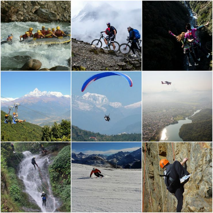 Extreme Adventure Sports in Nepal (Himalayan Holiday Nepal)