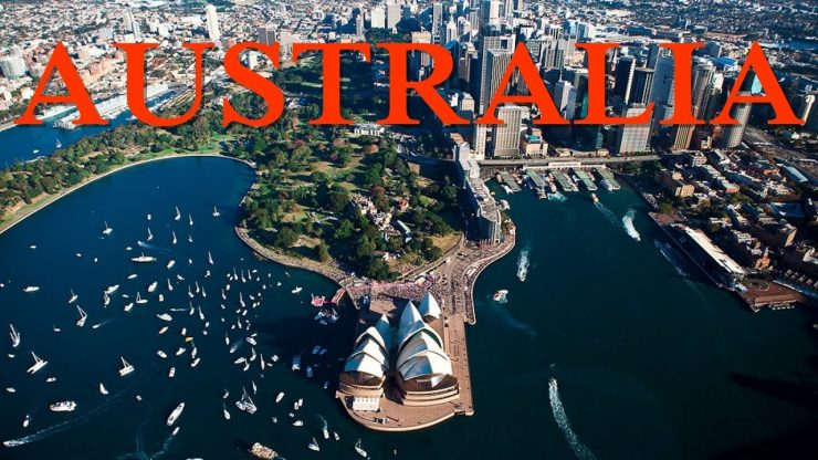 Top Tourist Attractions in Australia (YouTube)