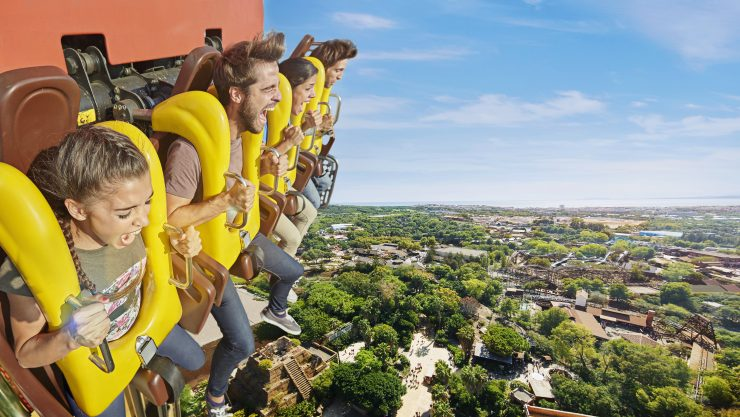 Visit PortAventura Spain (Hangout on Holiday)