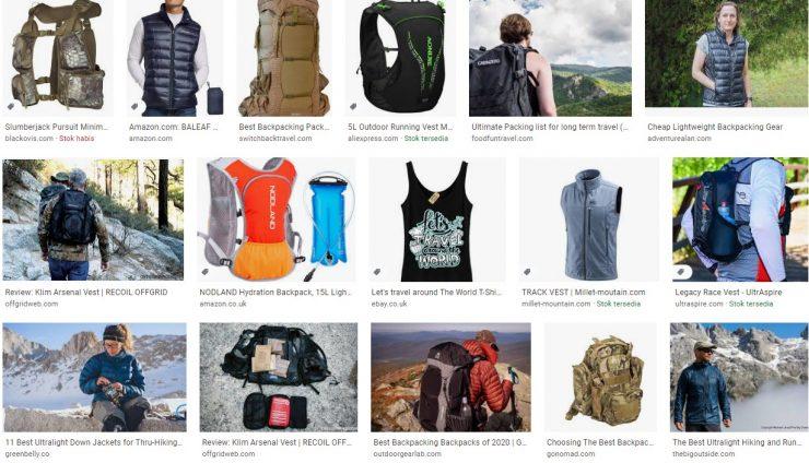 Backpacking Vest