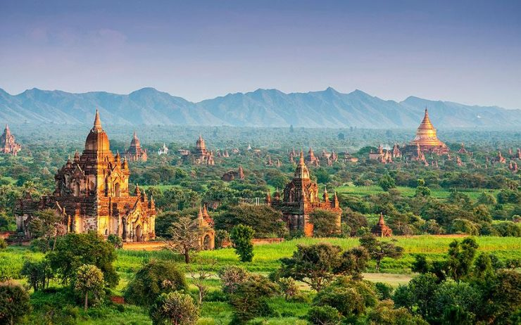 Bagan is the ancient city known for 4,000 ancient Buddhist temples (telegraph.co.uk)