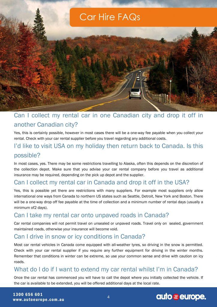 Canada-tourist-attractions-Canada-driving-guide