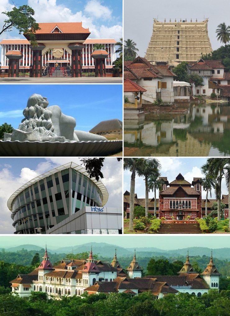 Trivandrum- The Capital of Kerala (Wikipedia)