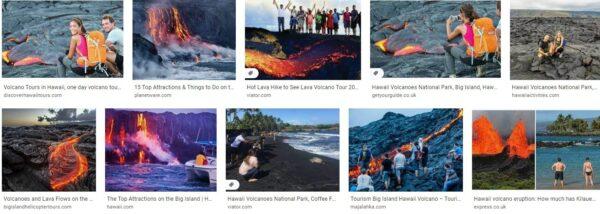 Tourism Big Island Hawaii Volcano