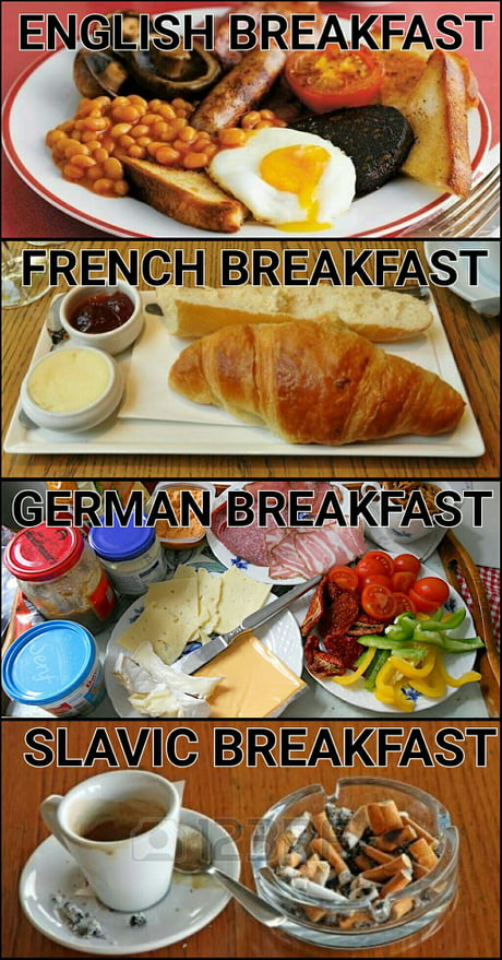 Top Culinary Delights in Europe (9Gag)