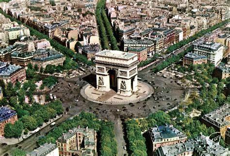 Arc de Triomphe Paris France Facts
