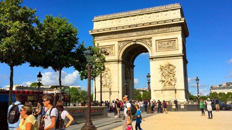 Arc de Triomphe Paris Wikipedia