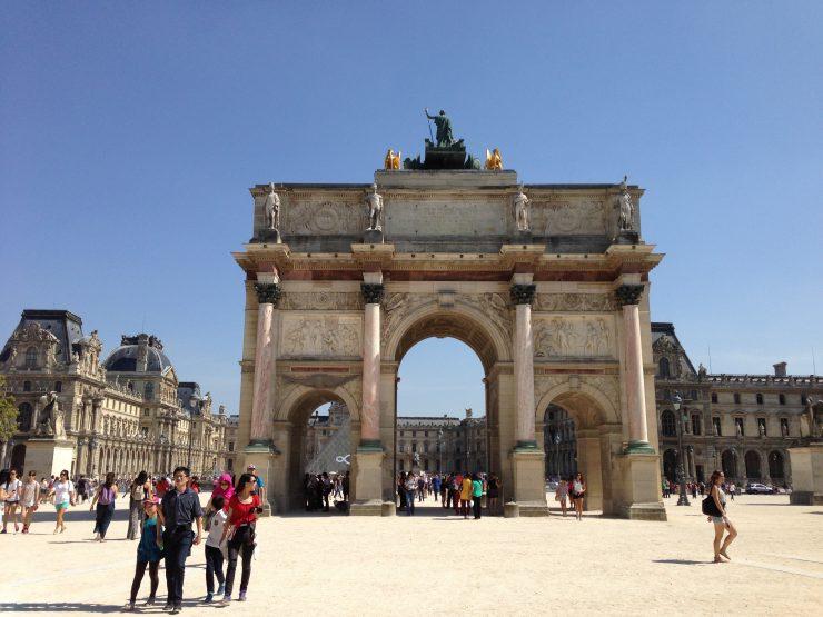 Arc de Triomphe du Carrousel Paris, 21 August 2013