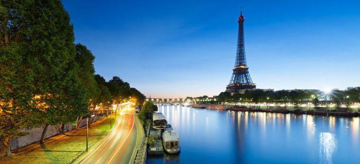 Eiffel Tower Paris Travel Icon