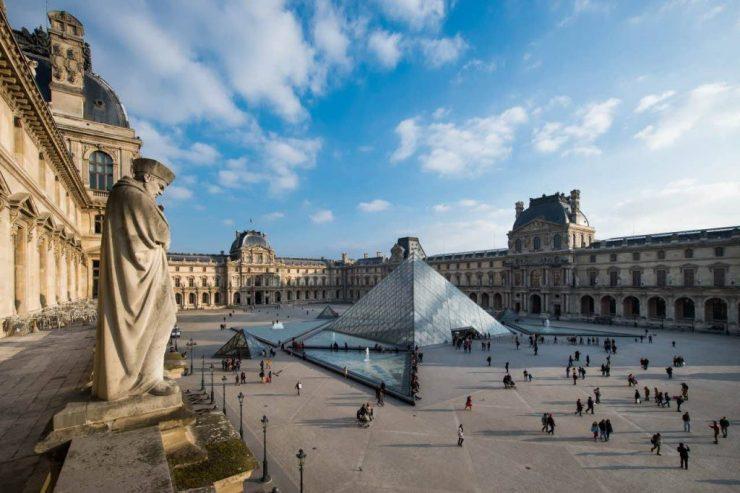 Musee du Louvre Paris history
