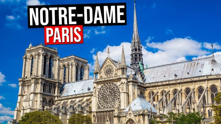 Notre Dame De Paris, Famous Catholic Cathedral