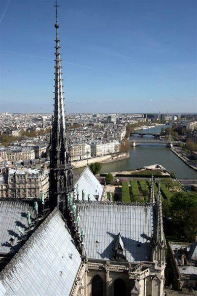 Notre Dame de Paris spire