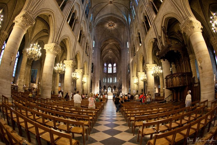 Notre dame de paris interior today