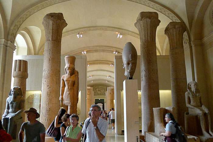 Paris Louvre-Museum-Egyptian-antiquities