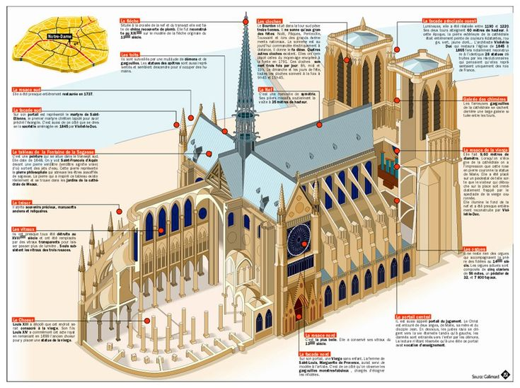 Restoration of Notre Dame de Paris Blueprint
