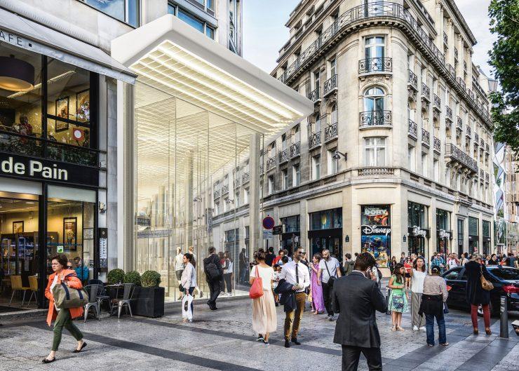 Champs Élysées Paris, Place of Branded Products
