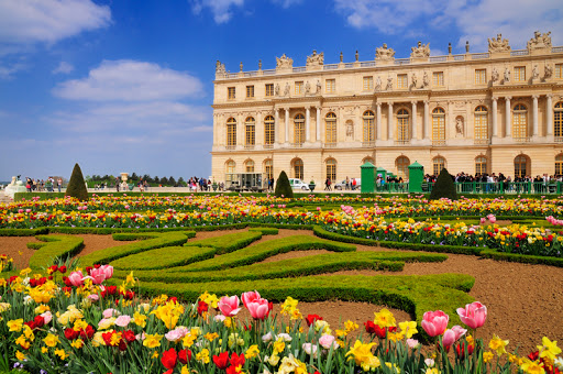Gardens of Versailles palace chateau Paris France (Beachcomber Pete Travel Adventures)
