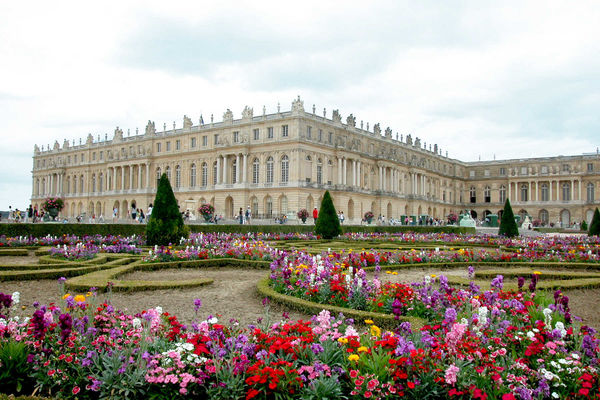 Gardens of Versailles palace chateau springtime Paris France (Rick Steves Europe)
