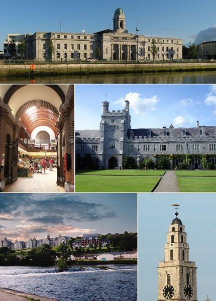 Cork City Ireland Tourism Guide (Wikipedia)