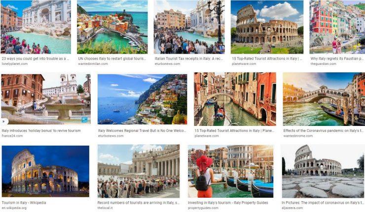 Italy tourism slogan