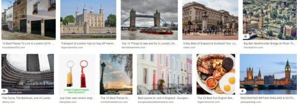 London and the Best of England