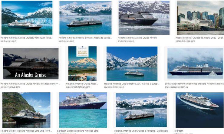 Features Of Holland America Alaska Cruises