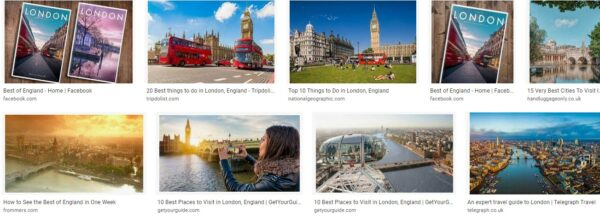 Orienting Yourself in London