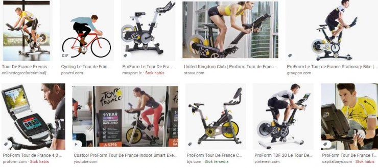 Tour De France Exercise Bike