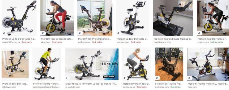 Tour De France Exercise Bike for sale