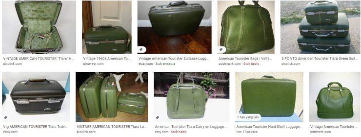 American Tourister Tiara Green