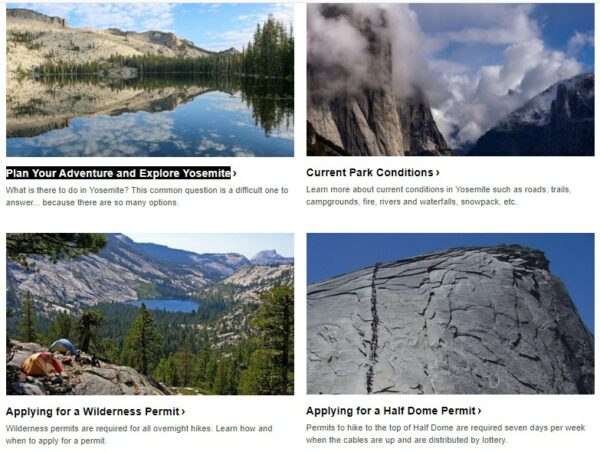 Plan Your Adventure and Explore Yosemite