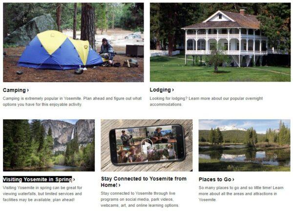 Visiting Yosemite in Spring _ Campingground and Lodge