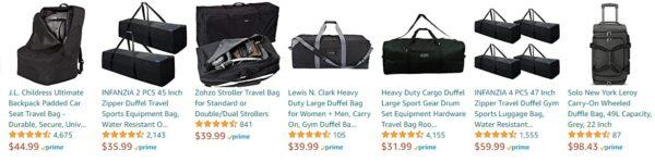 Best Seller Travelbag Amazon