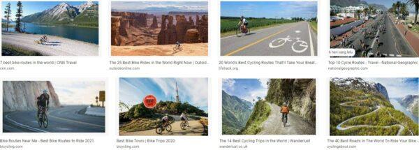 Biking Destinations Photo