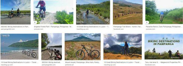 Biking destinations in Pampanga