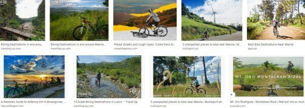 Biking destinations in rizal