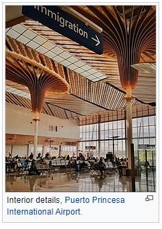 Puerto Princesa International Airport.