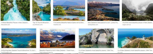 Best destinations new zealand