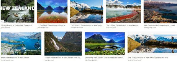 New zealand destinations to visit